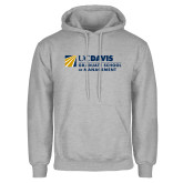 Grey Fleece Hoodie-Graduate School of Management Flat