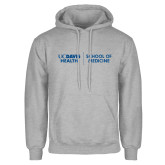 Grey Fleece Hoodie-School of Medicine