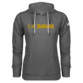 Adidas Climawarm Charcoal Team Issue Hoodie-UC DAVIS