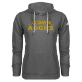Adidas Climawarm Charcoal Team Issue Hoodie-UC DAVIS Aggies