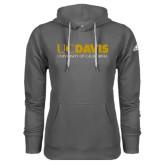 Adidas Climawarm Charcoal Team Issue Hoodie-UC DAVIS U of C
