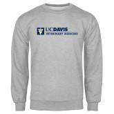 Grey Fleece Crew-Veterinary Medicine