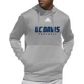 Adidas Grey Team Issue Hoodie-Football