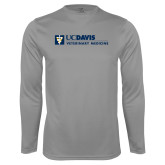 Performance Steel Longsleeve Shirt-Veterinary Medicine