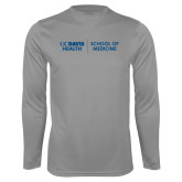 Performance Steel Longsleeve Shirt-School of Medicine