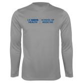 Performance Steel Longsleeve Shirt-School of Medicine
