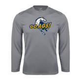 Performance Steel Longsleeve Shirt-Go Ags Logo