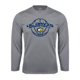 Performance Steel Longsleeve Shirt-Basketball Arched
