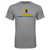 Grey T Shirt-School of Education