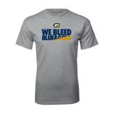 Grey T Shirt-We Bleed