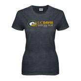 Ladies Dark Heather T Shirt-UCD Season Ticket Holder