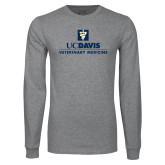 Grey Long Sleeve T Shirt-Veterinary Medicine