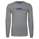Grey Long Sleeve T Shirt-College of Engineering