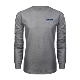 Grey Long Sleeve T Shirt-UC DAVIS