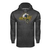 Under Armour Carbon Performance Sweats Team Hoodie-Go Ags Logo