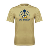 Performance Vegas Gold Tee-Basketball Stacked