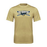 Performance Vegas Gold Tee-Baseball Crossed Bats