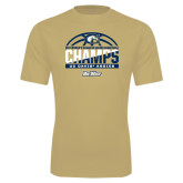 Syntrel Performance Vegas Gold Tee-Big West Conference 2017 Regular Season Womens Basketball Champs