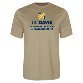 Performance Vegas Gold Tee-Graduate School of Management Stacked