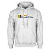 White Fleece Hoodie-College of Agricultural and Environmental Sciences