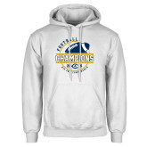White Fleece Hoodie-2018 Big Sky Conference Champions