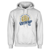White Fleece Hoodie-2019 Womens Basketball Big West Champions