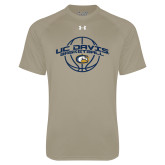 Under Armour Vegas Gold Tech Tee-Basketball Arched