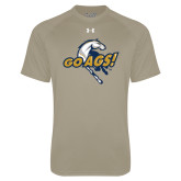 Under Armour Vegas Gold Tech Tee-Go Ags Logo