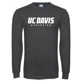 Charcoal Long Sleeve T Shirt-Primary Athletics Mark