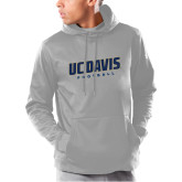 Under Armour Grey Armour Fleece Hoodie-Football