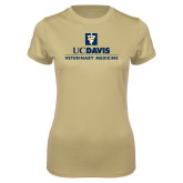 Ladies Syntrel Performance Vegas Gold Tee-Veterinary Medicine