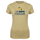 Ladies Syntrel Performance Vegas Gold Tee-Graduate School of Management Stacked