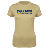 Ladies Syntrel Performance Vegas Gold Tee-School of Law