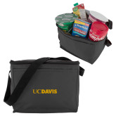 Six Pack Grey Cooler-UC DAVIS