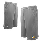 Russell Performance Grey 10 Inch Short w/Pockets-Official Logo