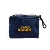 Six Pack Navy Cooler-UC DAVIS Aggies