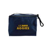Six Pack Navy Cooler-UC DAVIS Aggies