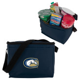 Six Pack Navy Cooler-C Horse Mark