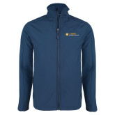 Navy Softshell Jacket-Veterinary Medicine