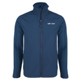 Navy Softshell Jacket-School of Medicine