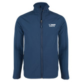 Navy Softshell Jacket-UC Davis Health