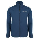 Navy Softshell Jacket-UC Davis Childrens Hospital