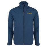 Navy Softshell Jacket-UC DAVIS