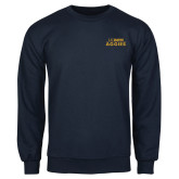 Navy Fleece Crew-UC DAVIS Aggies