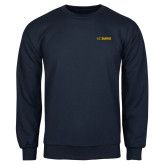 Navy Fleece Crew-UC DAVIS