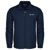 Full Zip Navy Wind Jacket-School of Medicine