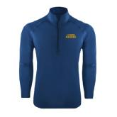 Sport Wick Stretch Navy 1/2 Zip Pullover-UC DAVIS Aggies