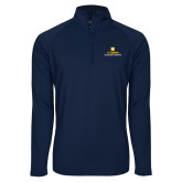 Sport Wick Stretch Navy 1/2 Zip Pullover-Veterinary Medicine