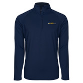 Sport Wick Stretch Navy 1/2 Zip Pullover-College of Engineering