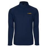 Sport Wick Stretch Navy 1/2 Zip Pullover-UC DAVIS